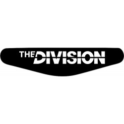 The Divison - Play Station PS4 Lightbar Sticker Aufkleber
