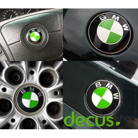 Emblem Ecken in verschiedenen Farben passend für alle BMW Modelle