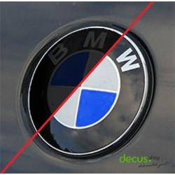 Tönung Abdunkelung passgenau für BMW Embleme Aukleber Sticker Dekor