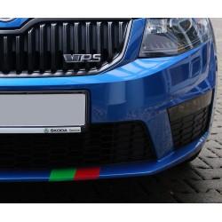 Streifen breit - für alle Skoda Modelle Aufkleber Skoda Sport RS Octavia Suberb Fabia Jeti 2 3 Sticker
