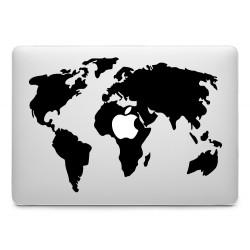 Weltkarte Sticker