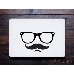 Glasses Mustache Brille Schnurrbart - Apple Macbook Air / Pro 11 13 15 17 Apple iPad / iPad mini
