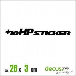 10 HP STICKER XL 1000