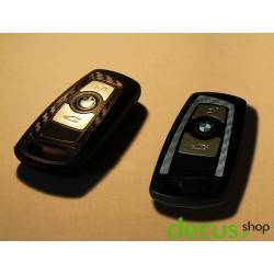 Schlüssel Dekor Carbon Sticker Folie Aufkleber passend für BMW F Reihe