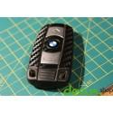 Schlüssel Dekor Carbon Sticker Folie Aufkleber passend für BMW E Reihe