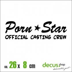 PORN STAR OFFICIAL CASTING CREW XL 2329