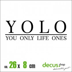 YOLO YOU ONLY LIFE ONES XL 2571