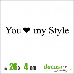 YOU LOVE MY STYLE XL 2579
