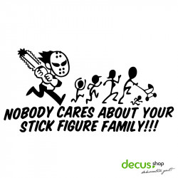 JASON NOBODY CARES ABOUT YOUR STICK FIGURE FAMILY L 2629