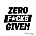 ZERO FUCKS GIVEN L 2650