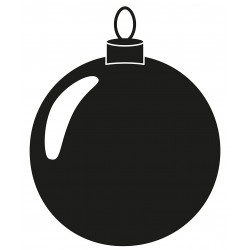 Weihnachtskugel L 2663