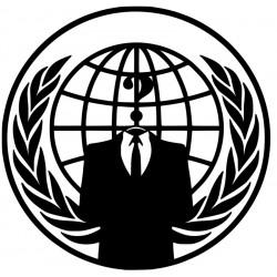 Anonymous Hacker Emblem L 2696