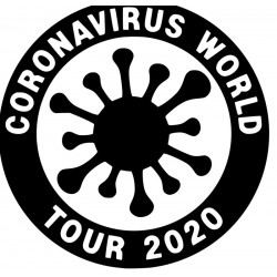 Corona Virus World Tour 2020 Band L 3246