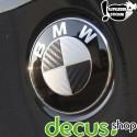 Emblem Ecken in Carbon passend für alle BMW Modelle