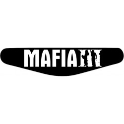 Mafia 3 - Play Station PS4 Lightbar Sticker Aufkleber