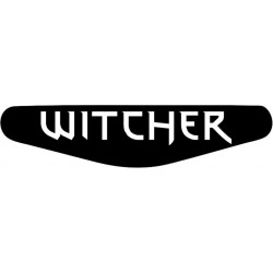 The Witcher - Play Station PS4 Lightbar Sticker Aufkleber