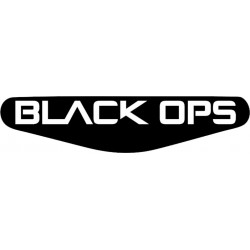 Call of Duty: Black Ops - Play Station PS4 Lightbar Sticker Aufkleber