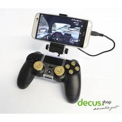 Game-Controller Gamepad Halter Clip Mount Cradle Handy Stand Schelle OTG Kabel für Sony PlayStation 4-PS4