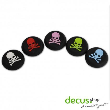 Totenkopf Aufsätze Thumb Grip Controller Stick Set Kappe Silikon PS2, PS3, PS4, Xbox, Xbox 360, Xbox One