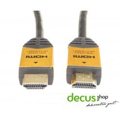 HDMI Kabel 1.4 a ULTRA Full HD TV 3D HighSpeed + Ethernet ARC CEC 4K
