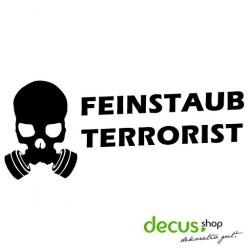 Feinstaub Terrorist Diesel // Sticker DUB OEM JDM Style Aufkleber