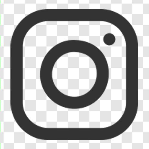Instagram in Schriftfarbe